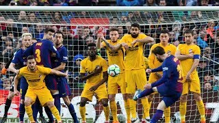 Leo Messi's All 7 FREEKICK Goals This Season ⚽2017/18 ►HD 1080p50 & Pure Commentary◄ ||HD||