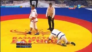 Еламан Ерғалиев «Қазақстан барысы - 2017» турнирінде жеңіске жетті