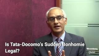 Is Tata-Docomo's Sudden Bonhomie Legal?
