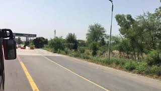 preview picture of video 'SialMore Toll Plaza Lahore Sheikhupura Islamabad Motorway '