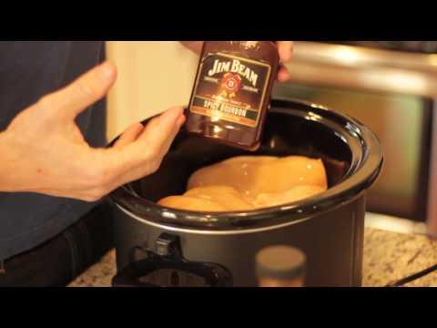 Pulled BBQ Chicken Crockpot Recipe