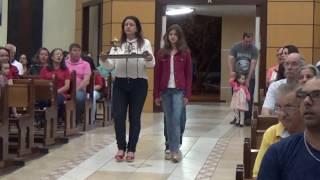 Canto de Ofertório - Missa do 27º Domingo do Tempo Comum e 4º Dia da Novena a Nossa Senhora Aparecida (06.10.2018)