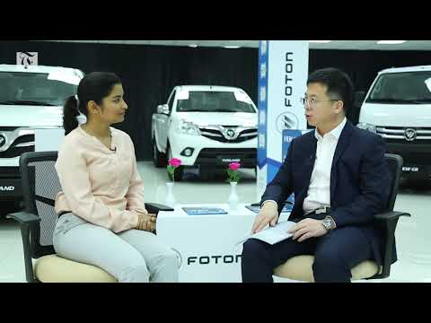 Video: Foton launches commercial vehicles in Oman
