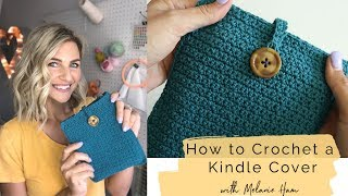 How to Crochet a Kindle Cover