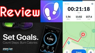 Step counter & pedometer app review - 2020 | step tracker app free in mobile, calorie count, fitness