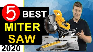 Best Miter Saw 🏆 Top 5 Best Miter Saws in 2020 (Review)