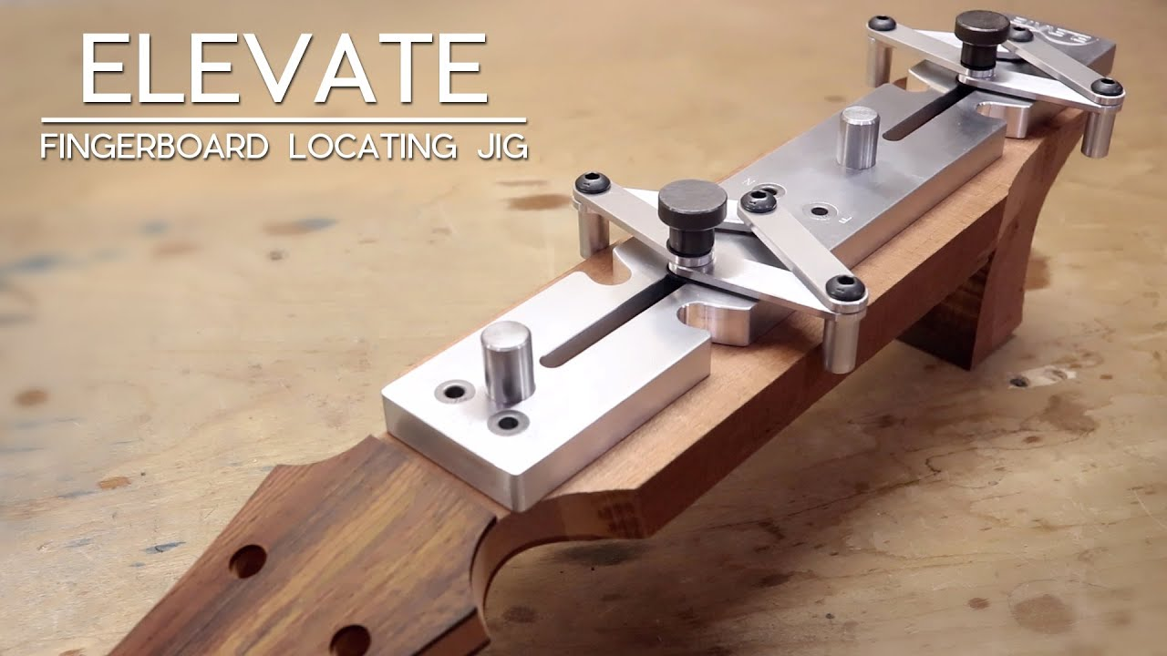 Using Your Fingerboard Locating Jig