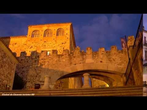 Ciudad de Cáceres turismo HD