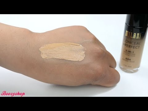 Milani Milani Conceal & Perfect 2-in-1 Foundation and Concealer Natural Beige