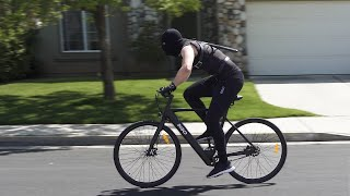 This E–bike is for Ninjas