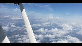 Flying to Myrtle Beach Class C | VFR on top of Clouds