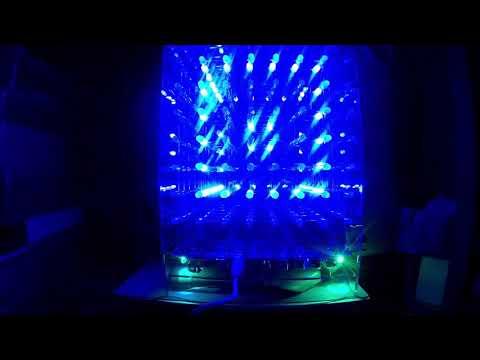 DIY 8x8x8 LED Cube - Stunning