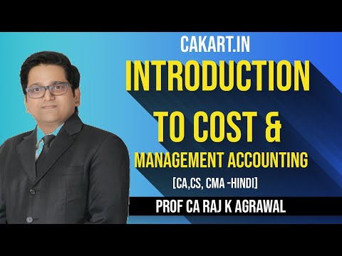 Introduction to Cost & Management Accounting by CA Raj K Agrawal