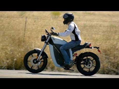 Brammo Enertia Electric Motorcycle