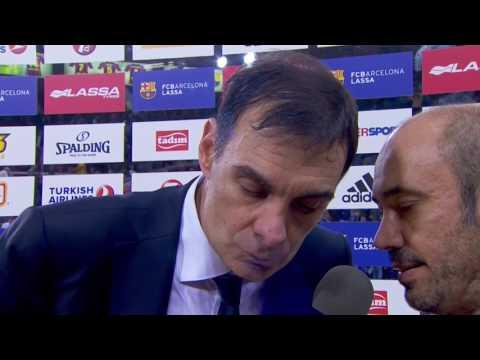 Post-game interview: Coach Bartzokas, FC Barcelona Lassa