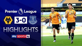 SUBSCRIBE ► http://bit.ly/SSFootballSub PREMIER LEAGUE HIGHLIGHTS ► http://bit.ly/SkySportsPLHighlights Highlights from Wolves win against Everton as goals from Raul Jimenez, Leander Dendoncker and Diogo Jota sealed the 3 points.    Watch Premier League LIVE on Sky Sports here ► http://bit.ly/WatchSkyPL ►TWITTER: https://twitter.com/skysportsfootball ►FACEBOOK: http://www.facebook.com/skysports ►WEBSITE: http://www.skysports.com/football  MORE FROM SKY SPORTS ON YOUTUBE: ►SKY SPORTS CRICKET: https://bit.ly/SubscribeSkyCricket ►SKY SPORTS BOXING: http://bit.ly/SSBoxingSub ►SOCCER AM: http://bit.ly/SoccerAMSub ►SKY SPORTS F1: http://bit.ly/SubscribeSkyF1