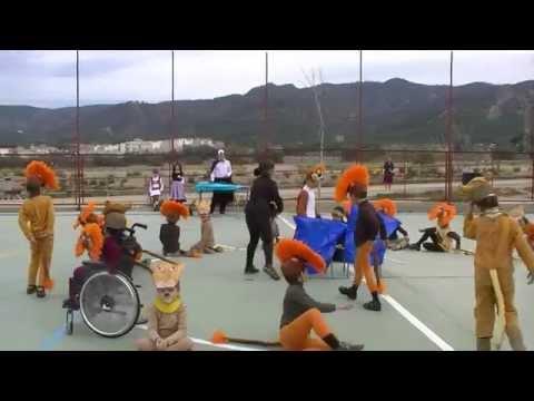 """""""El Rey León"""" (Carnaval 2015 - 1º - C.E.I.P. Gloria Fuertes)"""