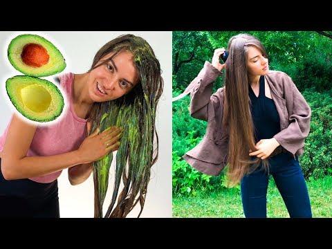 Супер маска для волос из авокадо 🥑 Как спасти свои волосы от ломкости и сечения 🌴 POLI NA PALME