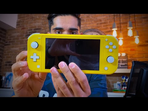 Nintendo SWITCH LITE, UNBOXING
