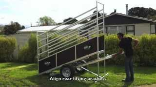 Kiwi Cattle Yards Portable Loading Ramp