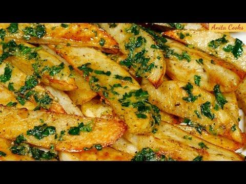 Video Roasted Garlic Potatoes Recipe