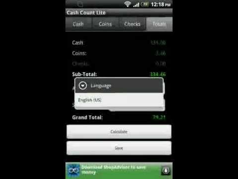 Video of Cash Count Lite