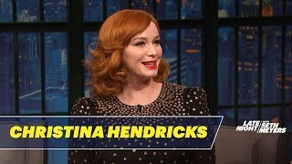 Christina Hendricks Mom Practiced Hypnotism On Neighborhood Kids