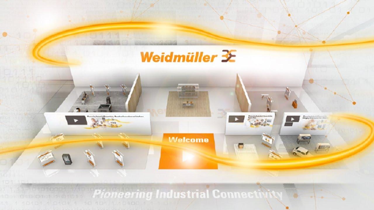 Weidmuller's Virtual Fair - Guided Tour