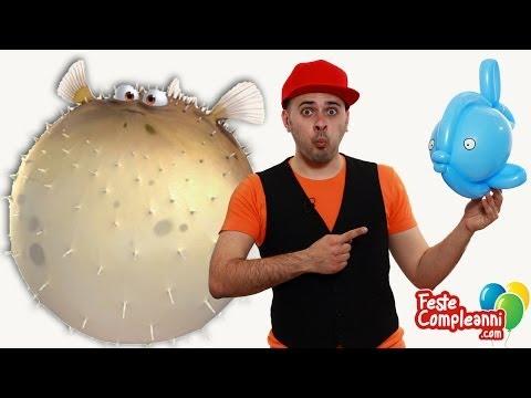 Balloon Fish - Palloncino Pesce Palla - Tutorial 96 - Feste Compleanni