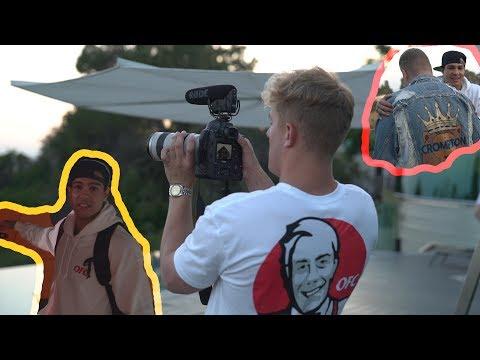 Behind The Scenes - It's Everyday Bro feat. Jake Paul & Team 10 | Ray Diaz