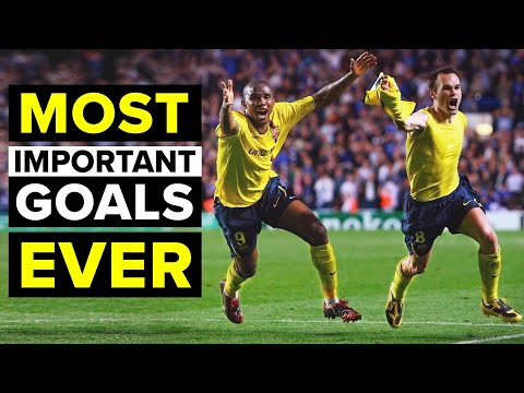THE 10 MOST IMPORTANT GOALS EVER