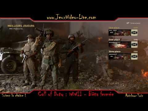 Découverte de la bêta fermée de Call of Duty : WWII - Gameplay commenté de Call of Duty : WWII