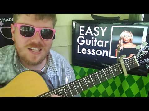 Kelsea Ballerini - homecoming queen? // easy guitar lesson tabs how to play beginner tutorial