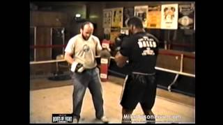 Iron Mike Tyson BOOM ! - Trains on the Pads