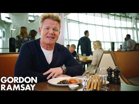 Gordon Ramsay Goes Behind The Scenes At Plane Food