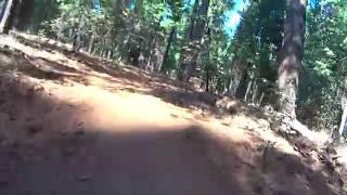 Ride down Scotts Flat Lake Trail