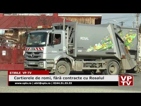 Cartierele de romi, fără contracte cu Rosalul