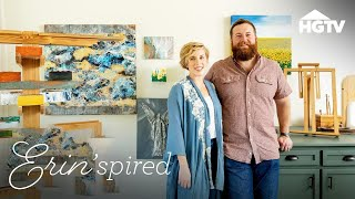 Designing A Professional Art Studio - Erinspired - HGTV