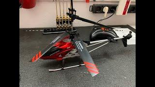 SYMA RC Helikopter S37 Raptor *Unboxing & Test*