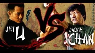 Jet Li Vs Jackie Chan  Fan Tribute  HD