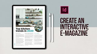 Create An Interactive E-Magazine In Adobe InDesign