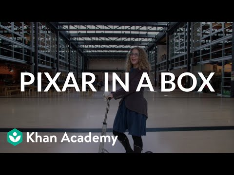 Pixar In A Box Teaches The Basics Of How Pixar Gets Things Done