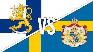 🇫🇮 Finnish National Anthem vs 🇸🇪 Swedish National Anthem!