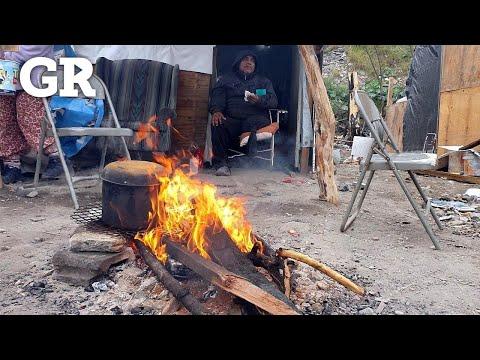 Tras incendio, sufren por el frío | Monterrey