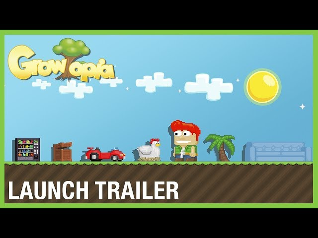 Growtopia: Be Anyone & Create Anything | Launch Trailer | Ubisoft [NA]