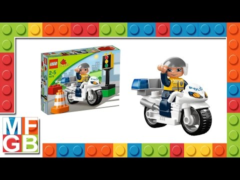 Vidéo LEGO Duplo 5679 : La moto de police
