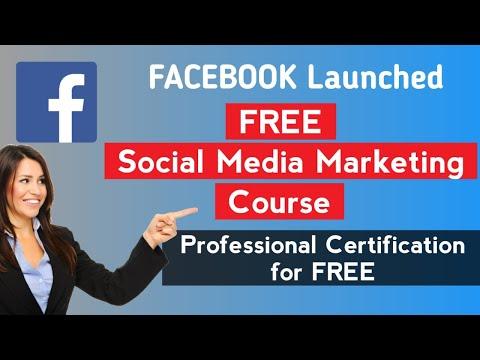 Free Facebook Social Media Marketing Professional Certificate ...