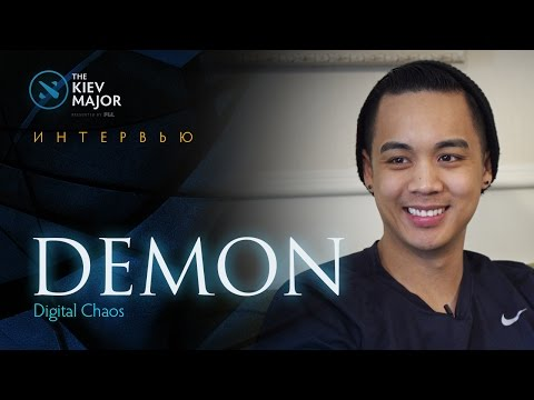 Интервью с DC.DeMoN @ The Kiev Major