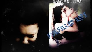 Дэймон и Елена, Damon & Elena ♡ A fulfilled life [5x22]