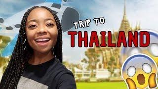 THAILAND VLOG PT. 1| Skai Jackson